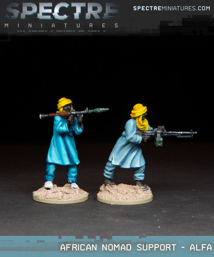 African Nomad Support Alfa - Spectre Miniatures