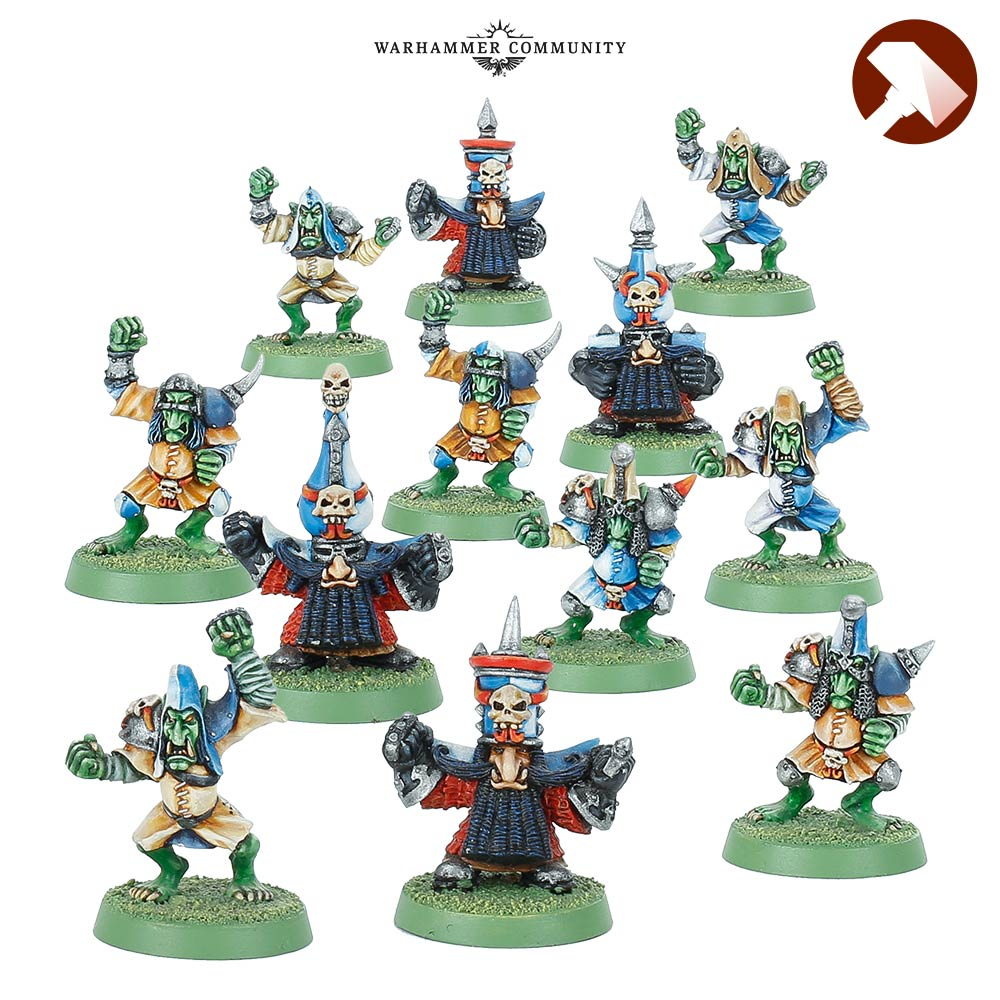 Classic Chaos Dwarf Team - Blood Bowl