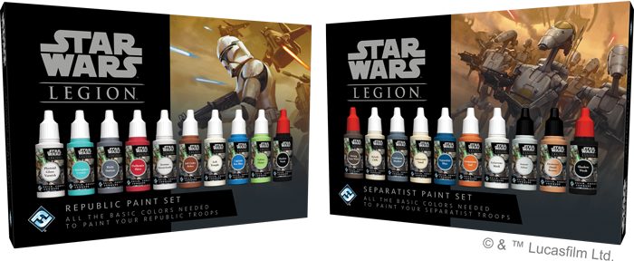 Clone Wars Paint Sets - FFG