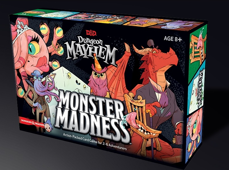 Dungeon Mayhem Monster Madness Box - Wizards Of The Coast