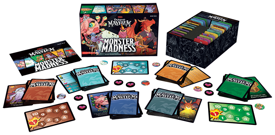 Dungeon Mayhem Monster Madness - Wizards Of The Coast