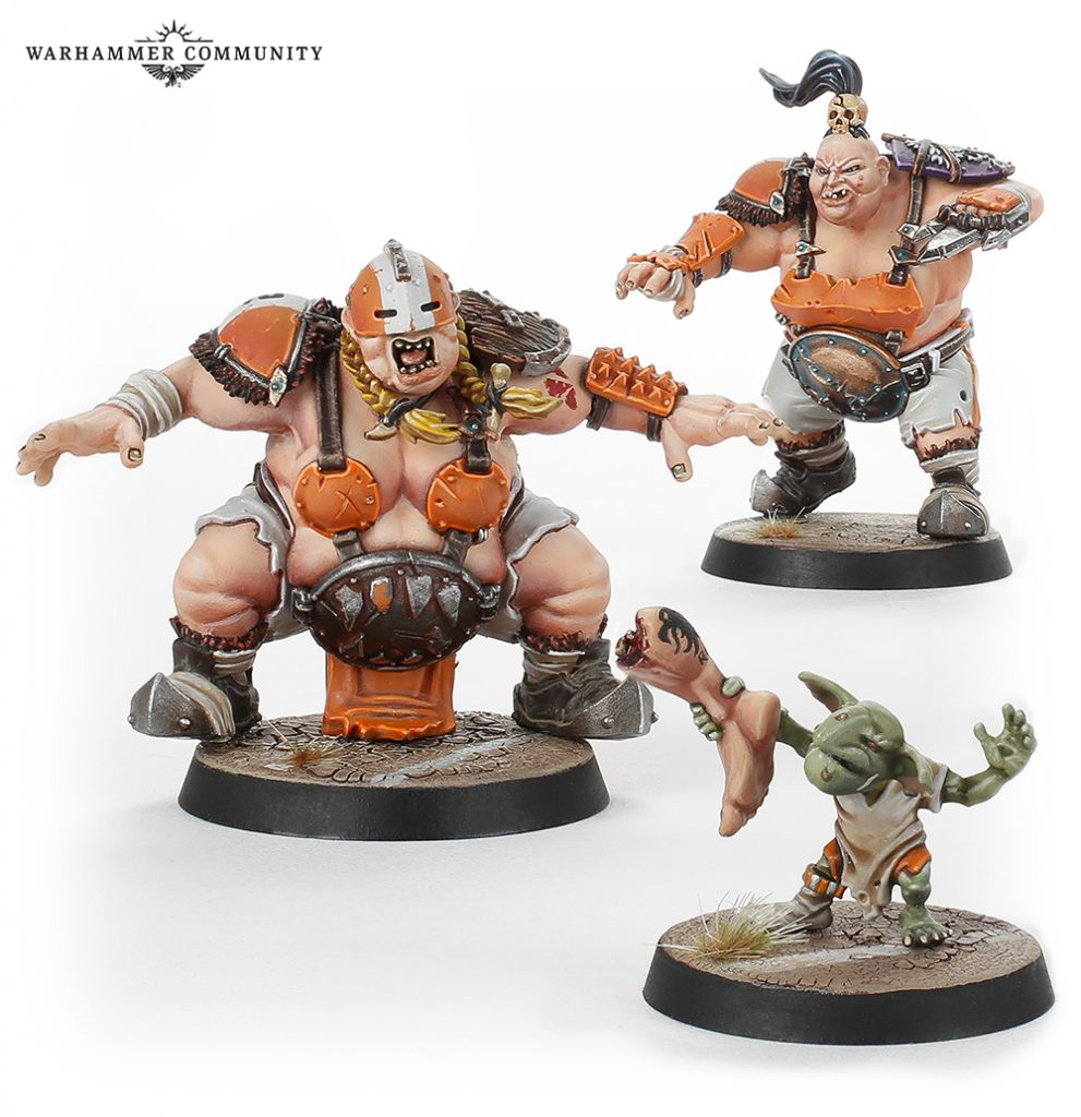 Extra Ogre Blood Bowl Team #2 - Games Workshop