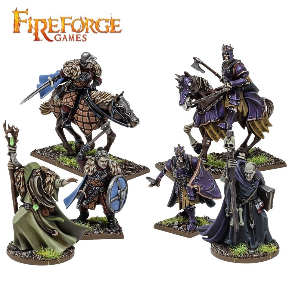 Forgotten Worlds Characters - Fireforge Games