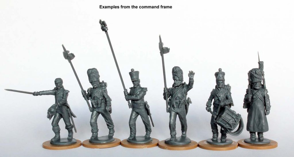 French Command Frame #1 - Perry Miniatures