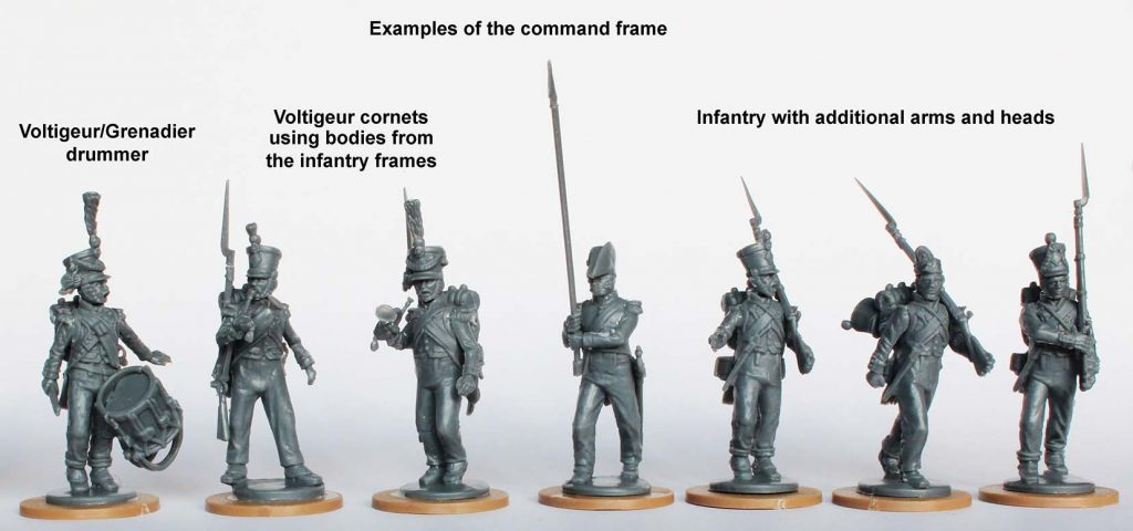 French Command Frame #2 - Perry Miniatures