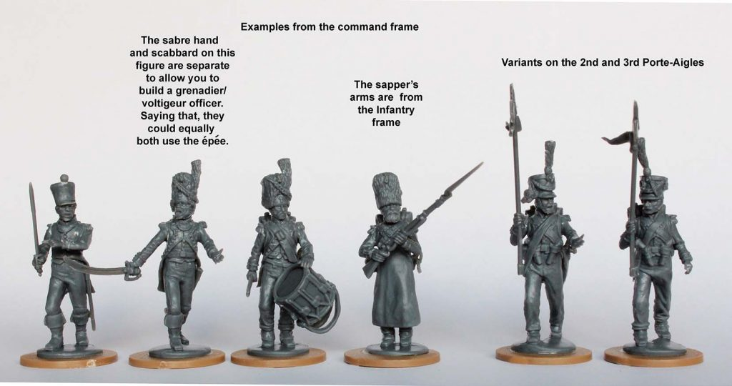 French Command Frame #3 - Perry Miniatures