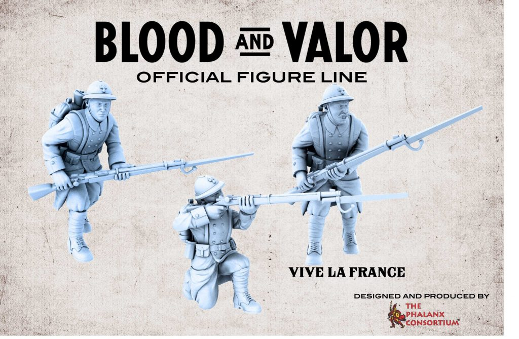 French Soldiers Alt - Blood & Valor