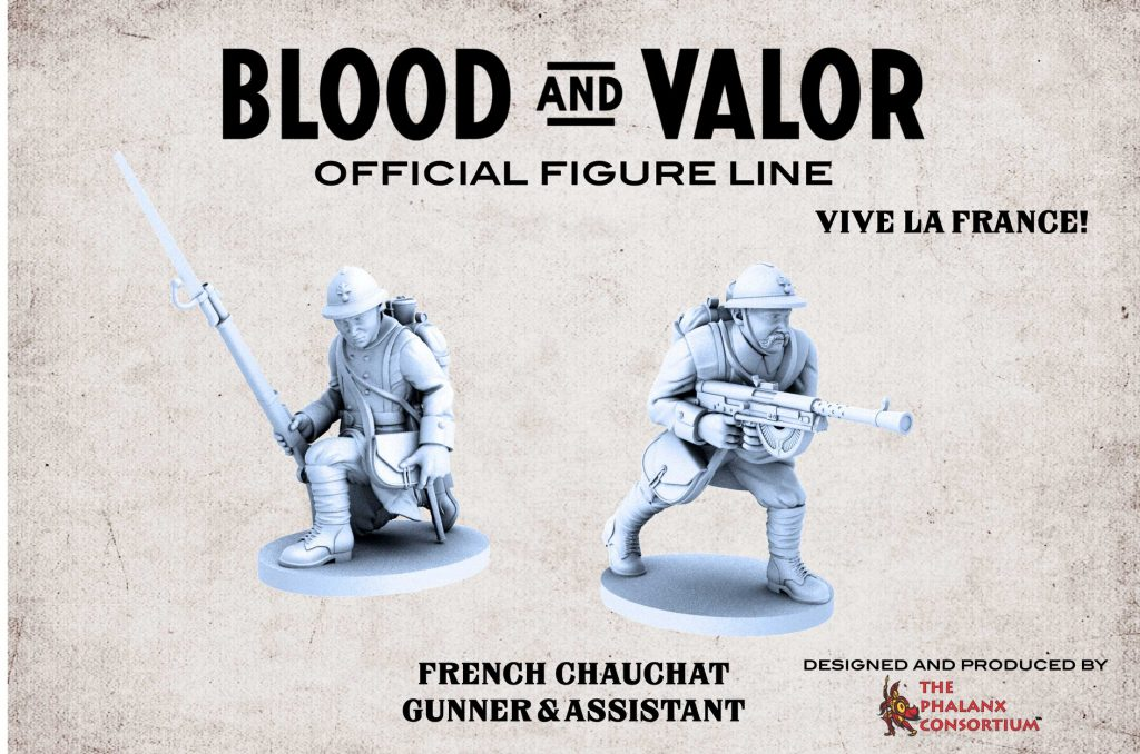 French Soldiers - Blood & Valor