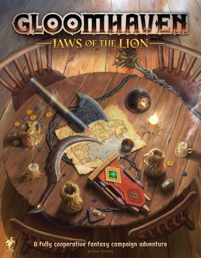Gloomhaven Jaws Of The Lion - Cephalofair Games