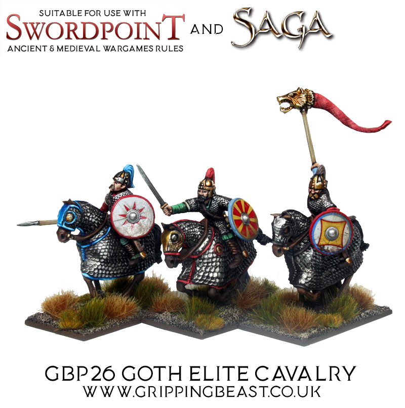 Goth Elite Cavalry #1 - Gripping Beast