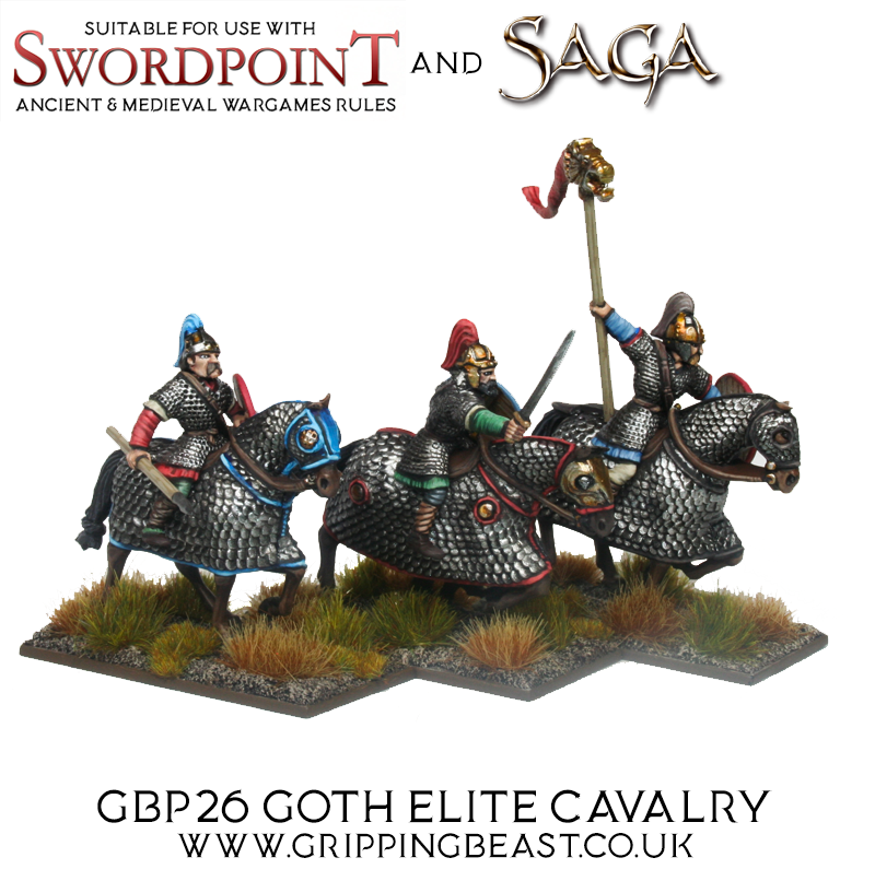 Goth Elite Cavalry #2 - Gripping Beast