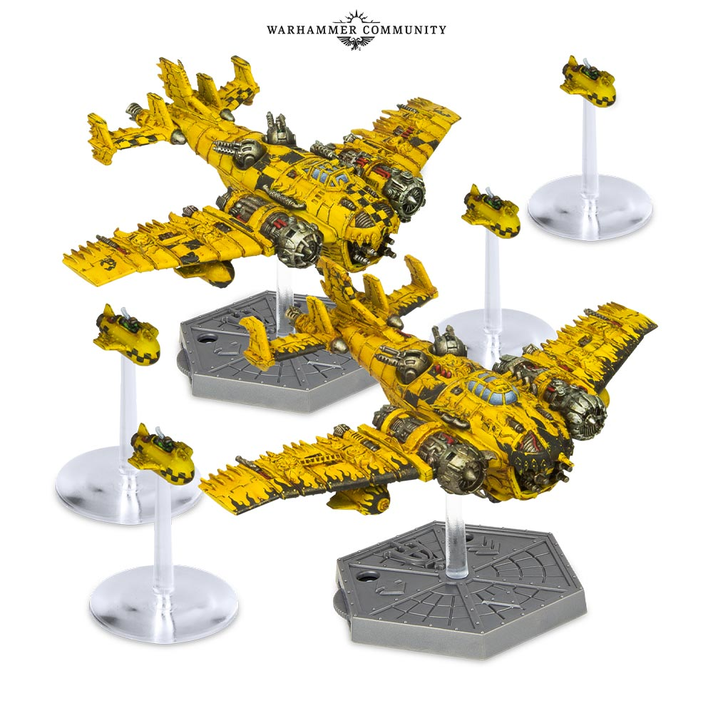 Grot Bommers & Grot Bombs - Aeronautica Imperialis