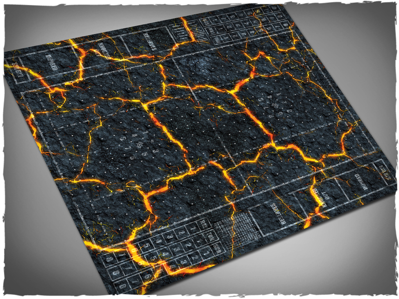 Inferno Blood Bowl Mat - Deep Cut Studio