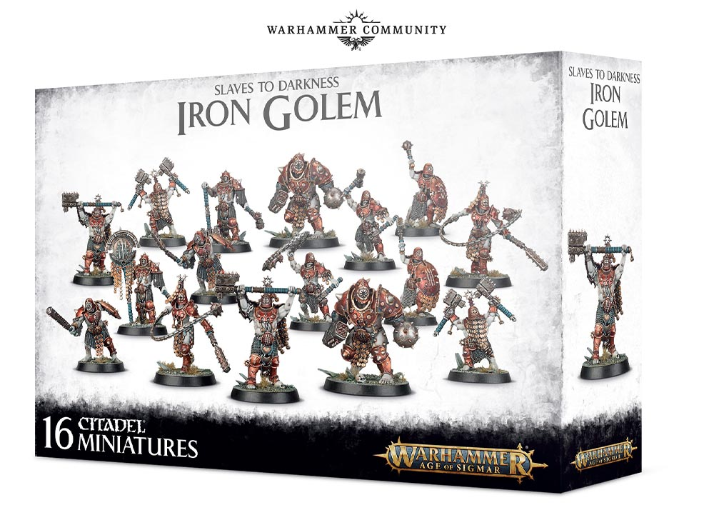 Iron Golems - Age Of Sigmar