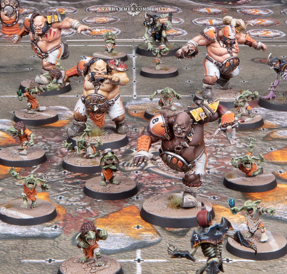 Ogre Blood Bowl Team #1 - Games Workshop