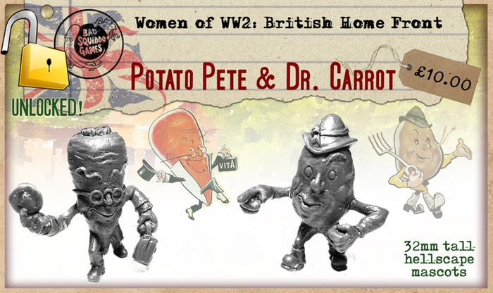 Potato Pete & Dr Carrot