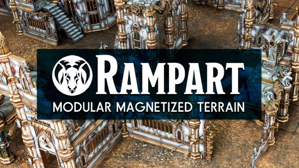 Final Week For Archon's Rampart Modular Terrain Kickstarter