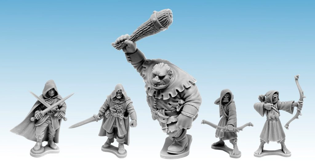 Rangers Of Shadow Deep Previews 2020 - North Star Military Figures