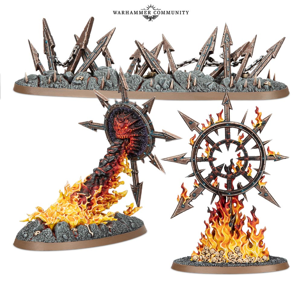 Slaves To Darkness Spells #1 - Age Of Sigmar