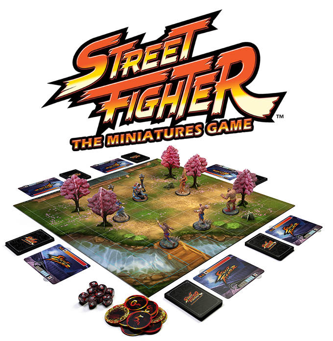 Street Fighter The Miniatures Game Gameplay - Jasco Games
