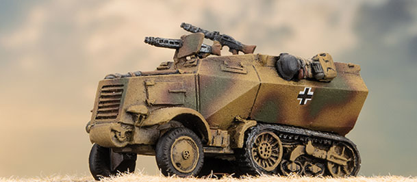 U304(F) Half-track - Flames Of War