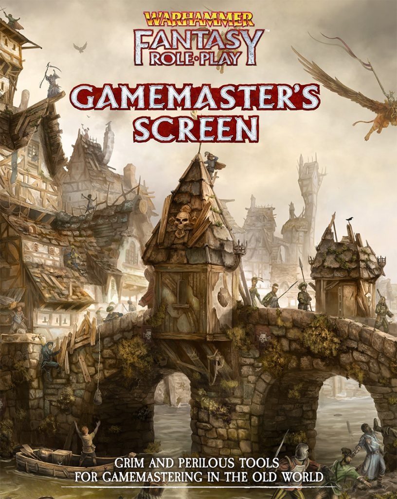 WFRP Gamemaster Screen - Cubicle 7