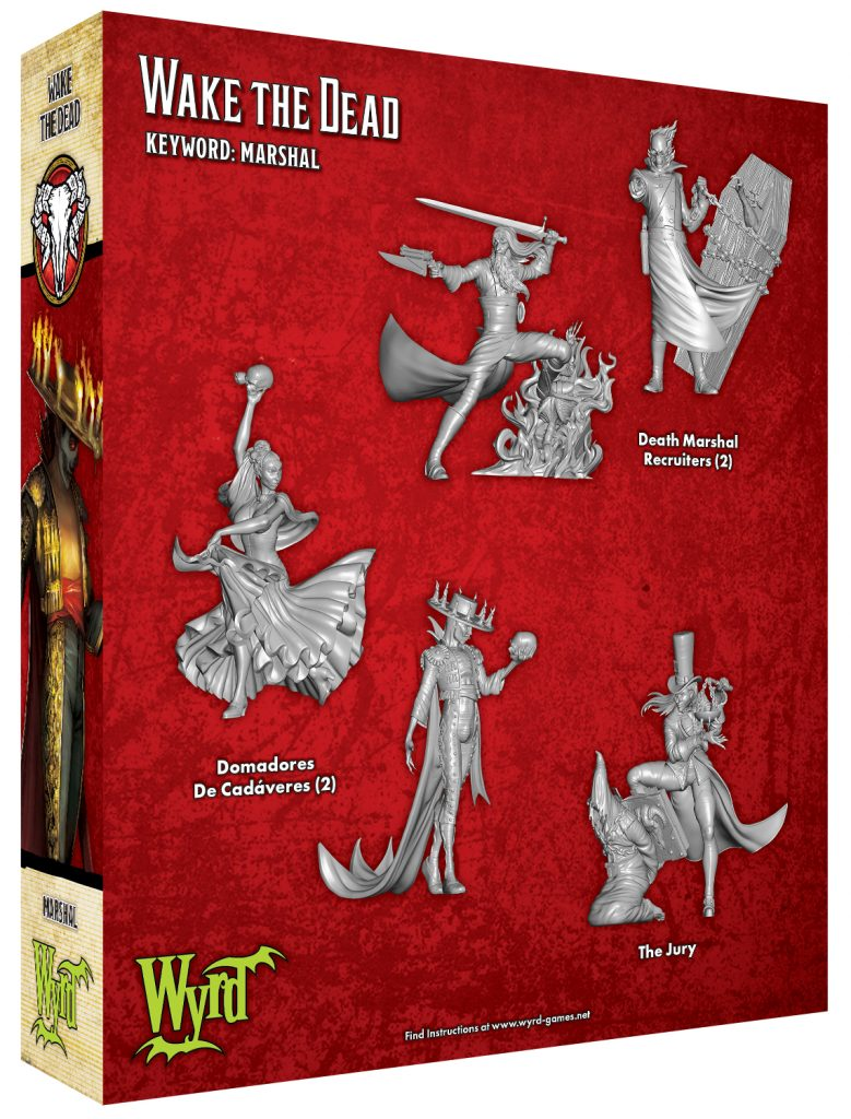 Wake The Dead - Malifaux