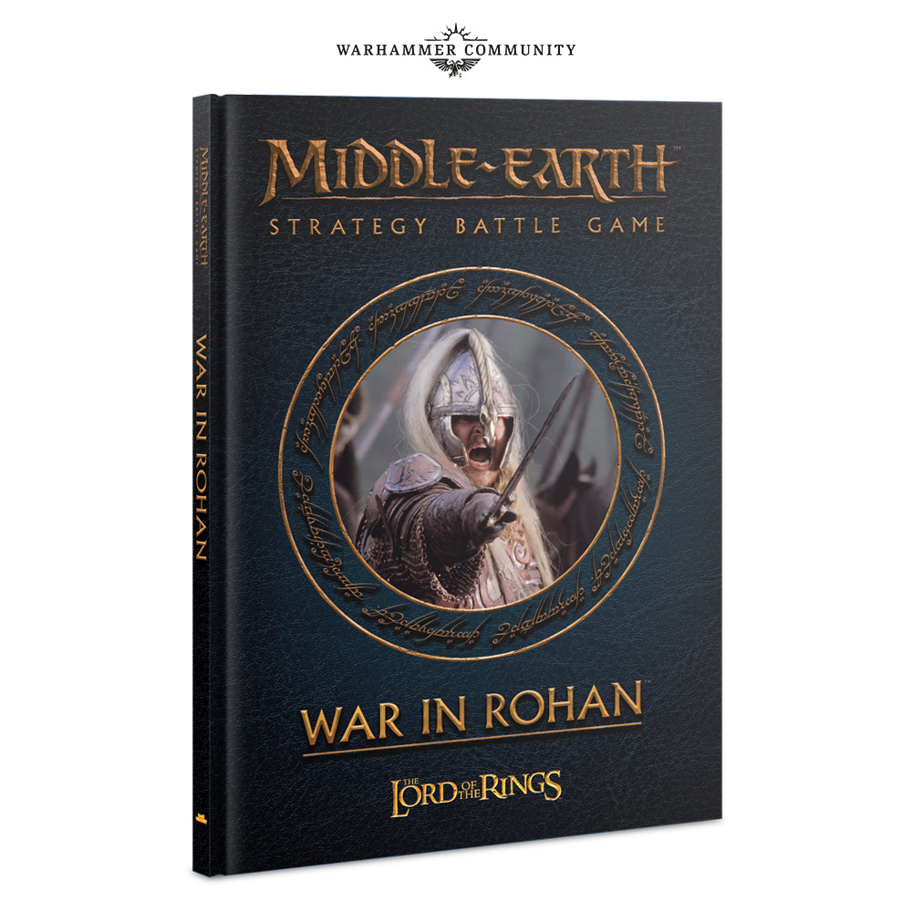 War In Rohan Book - Middle-earth SBG