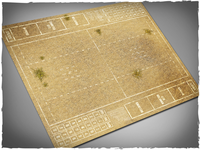 Wild West Blood Bowl Mat - Deep Cut Studio