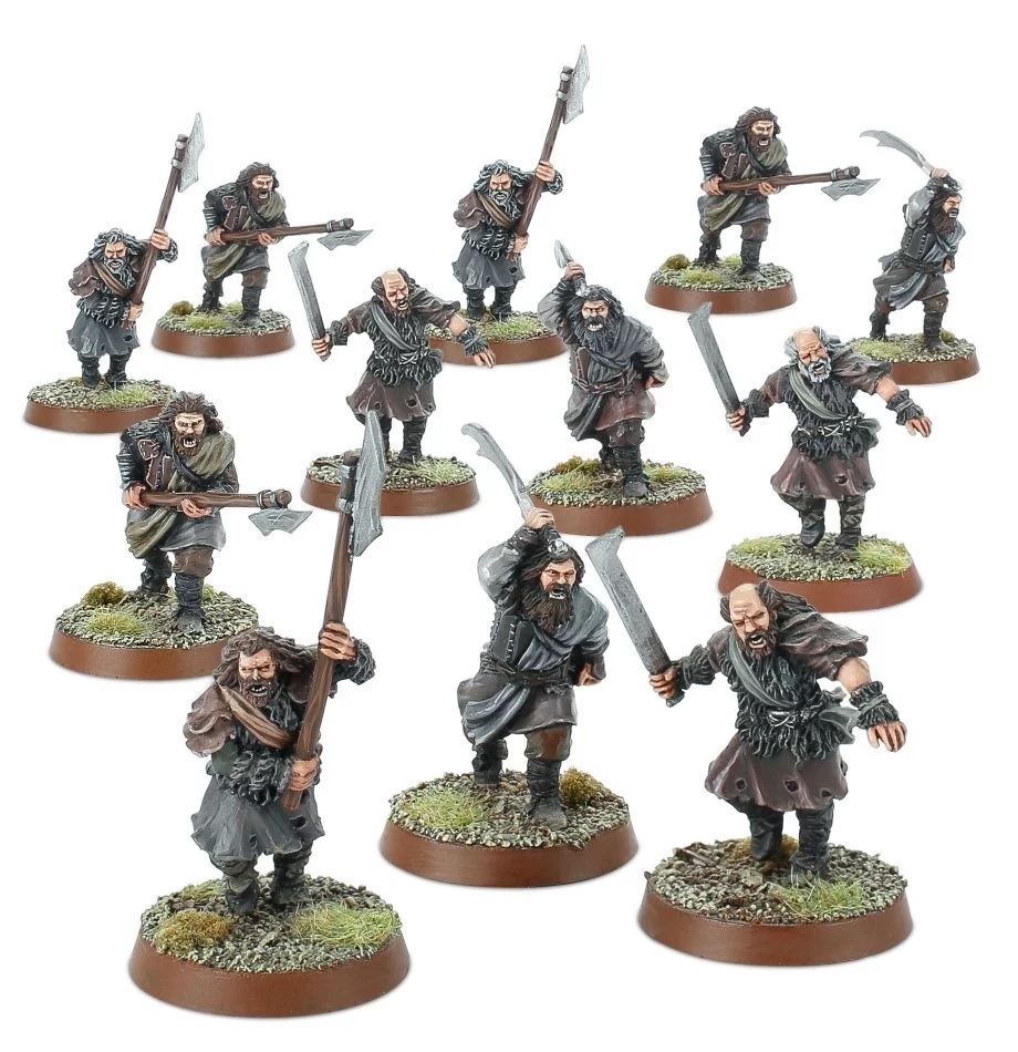 Wildmen Of Dunland - Middle-earth