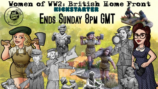 Bad Squiddo's Final Hours For Women Of WWII Kickstarter