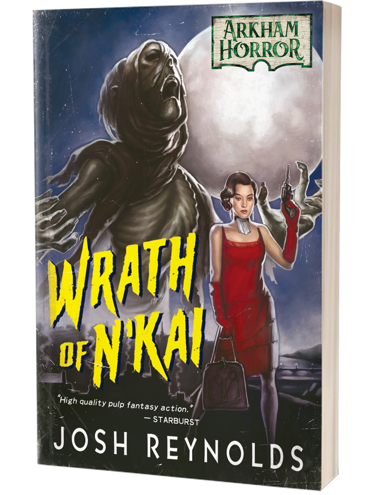 Wrath Of NKai Arkham Horror - Aconyte Books