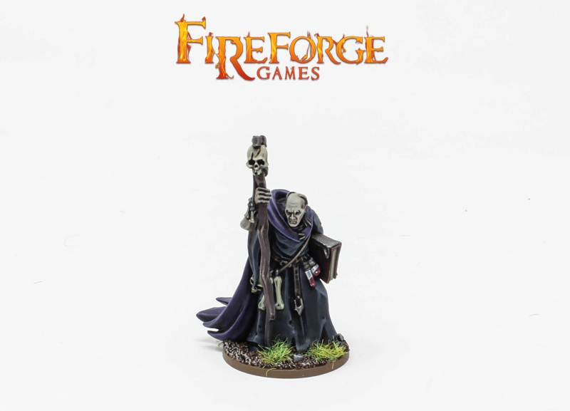 Xaquir The Necromancer - Fireforge Games