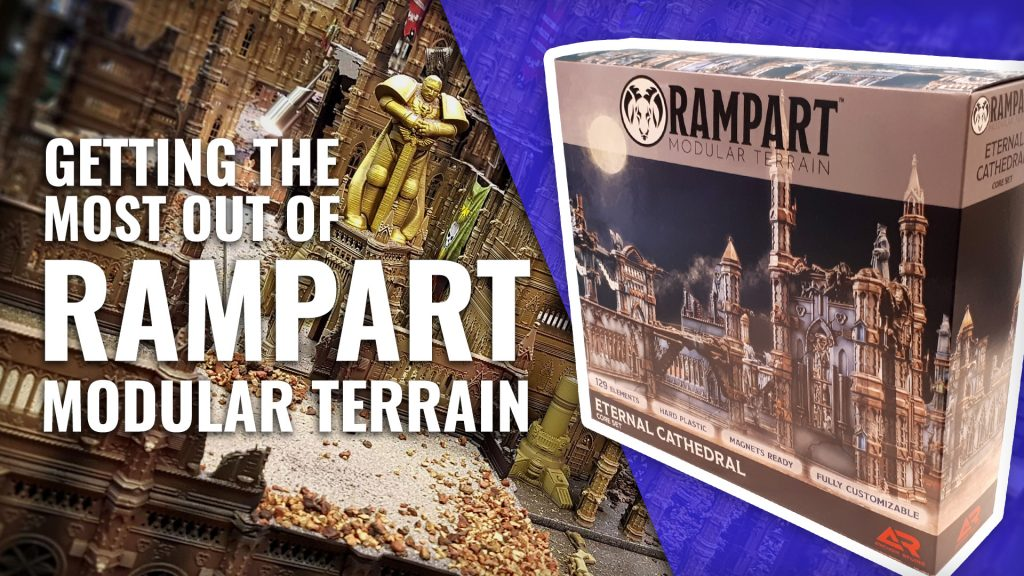 Elevating Your Wargames - Showing Off Rampart: Modular Terrain