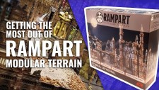 Elevating Your Wargames – Showing Off Rampart: Modular Terrain