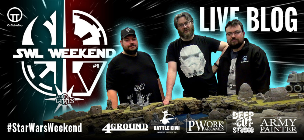 Star Wars Hobby Weekend Live Blog
