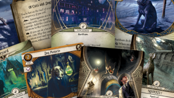 FFG Release April Fool's Joke Gone Mad With Barkham Horror