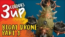 3 Colours Up: Painting The Bloat Drone [Part One]