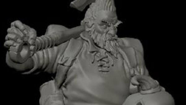Face Down Dragons With Hasslefree Miniatures' Borax Wyrmaxe