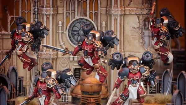 The Dawnbreaker Cohort Arrive As New Forge World Blood Angels