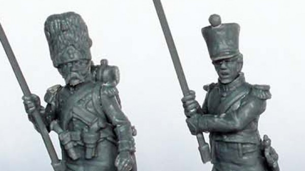 Perry Miniatures Gather Their Plastic French Command Options