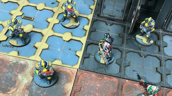 4Ground Test Out Their Powders On New Grimdark Tile Sets