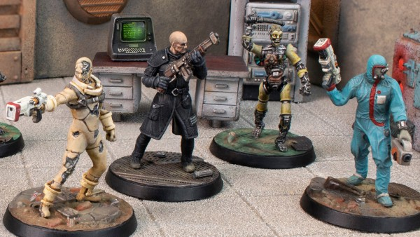 The Institute Head To Modiphius' Fallout: Wasteland Warfare