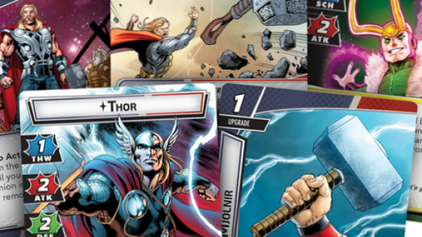 Thor Brings The Hammer Down For FFG's Marvel Champions