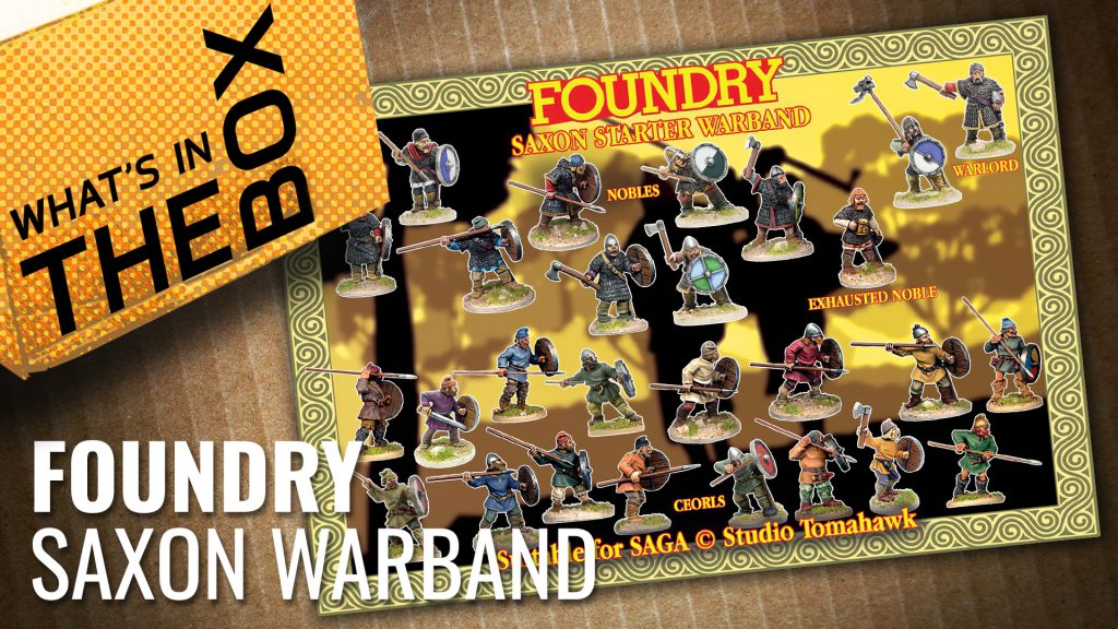 Unboxing Foundry: Saxons