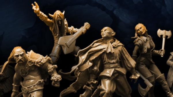 A Band Of Westfalia Miniatures' Heroes Arrive On Kickstarter