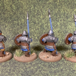 First unit of spearmen done.