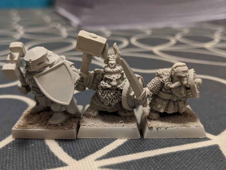 From left to right: Mantic, GW and Ral Partha