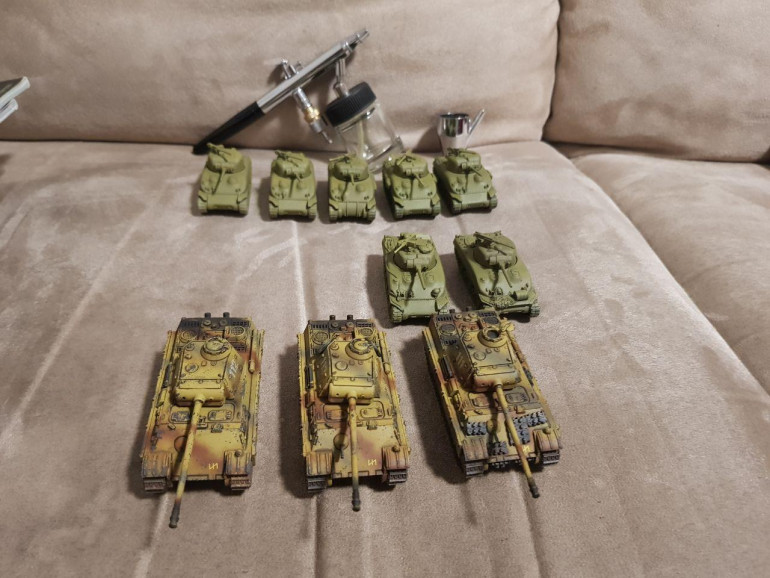 Germans Done! US Armor getting in