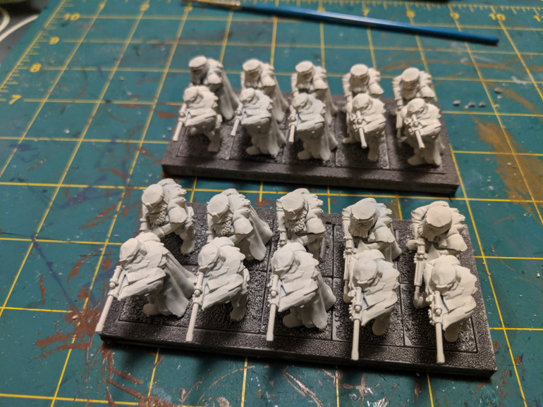 Two units of ironwatch with rifles.